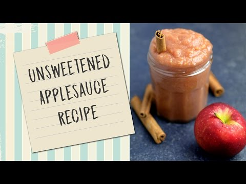 How To Make Unsweetened Applesauce