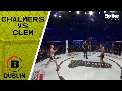 BELLATOR DUBLIN: AARON CHALMERS VS AUSTIN CLEM | FULL FIGHT