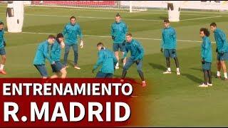 R.Madrid-PSG   Entrenamiento previo del Real Madrid   Diario AS