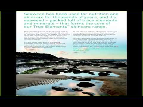 True Elements Marine Ecocert Organic Skincare and Skin Health