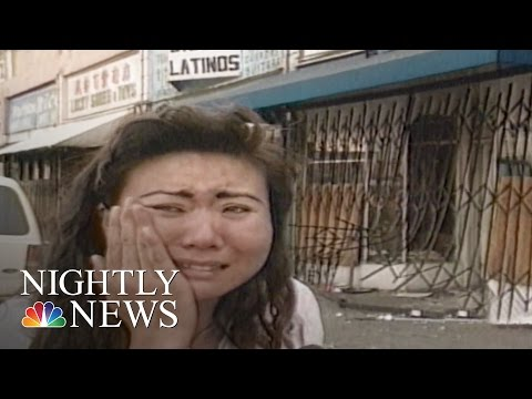 Korean Businesses Targeted During LA Riots | NBC Nightly New