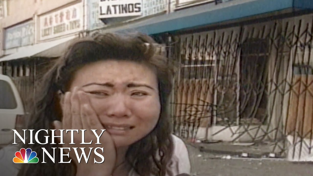 Korean Businesses Targeted During 1992 LA Riots | NBC Nightly News