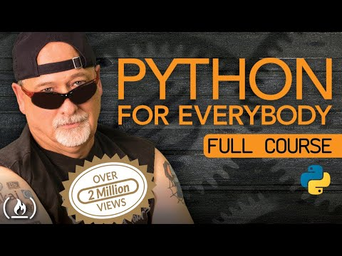 Python for Everybody - Full Course with Dr. Chuck