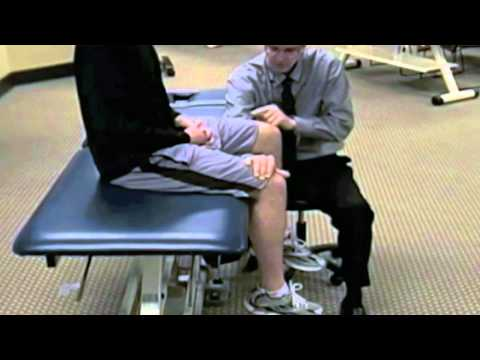 2 Stress fracture (fulcrum) test, with Mike Reiman