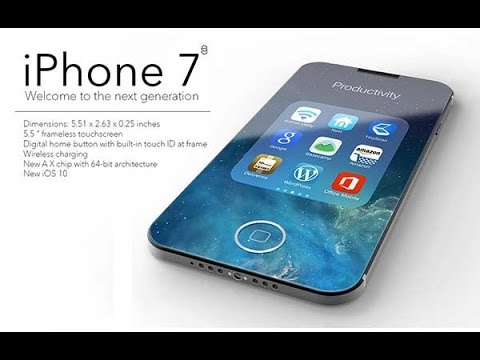 A Completely Unique Frameless iPhone 7 Concept
