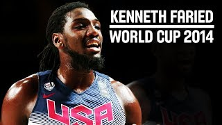 Kenneth Faried - The Manimal with the BEASTLY performance for USA at FIBA Basketball World Cup 2014