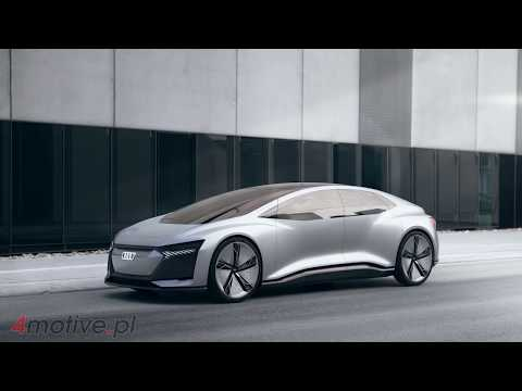NEW Audi Aicon TEST DRIVE - Concept Car by AUDI 2017 - interior Exterior and Drive