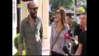 Cansu Dere and Sarp Akkaya (Bebek 14.06.2014)