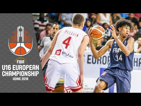 Croatia v France - Full Game - FIBA U16 European Championship 2019
