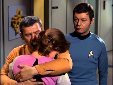 Dr. Lester - Cpt. Kirk (final scene)