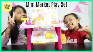 Unboxing Mainan Anak Perempuan ♥ Mesin Kasir Mini Market Play Set