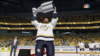 NHL 18 BRAND NEW STANLEY CUP CELEBRATION!!