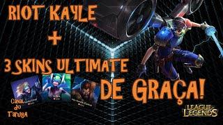 [NEWS] - Como ganhar 3 skins ULTIMATE + Kayle de GRAÇA!!