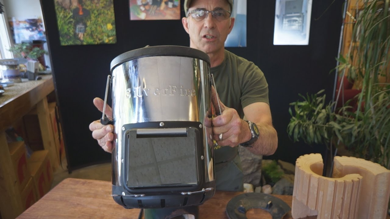Todd Albi Introduces Silverfire Survivor Rocket Stove