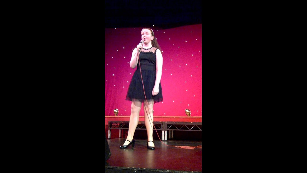 Francesca Lewell singing the climb by miley cyrus at the Kent ...