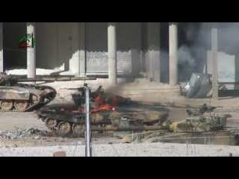 Syria 18+  rebels capture air base near Damascus 02-04-2013