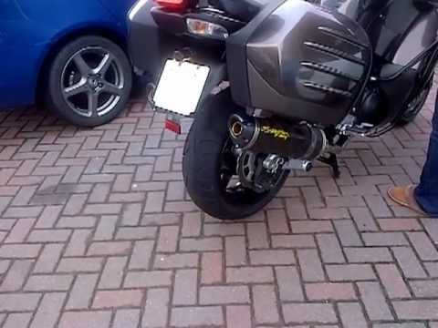 kawasaki gtr 1400 caf with twin exhaust conversion with. Black Bedroom Furniture Sets. Home Design Ideas