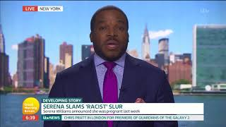 Serena Williams Slams Racist Comments From Ilie Nastase | Good Morning Britain