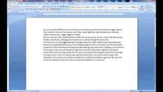 Microsoft Word - Отступы