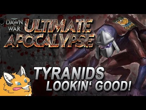 Tyranids Shredding Space Marines In 1.88.71 | Ultimate Apocalypse MOD
