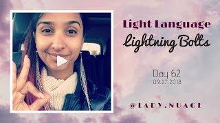 Light Language - Lady Nuage - Lightning Bolt #62
