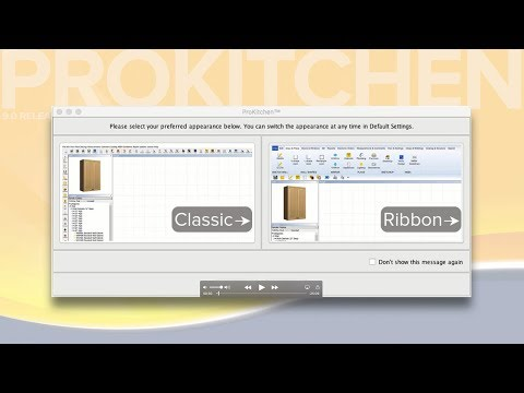 ProKitchen Version 9.0 Ribbon Video Tutorial - Full Version