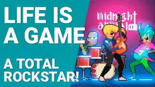 Life is a Game Gameplay - A Total Rockstar! [1080p/60fps]