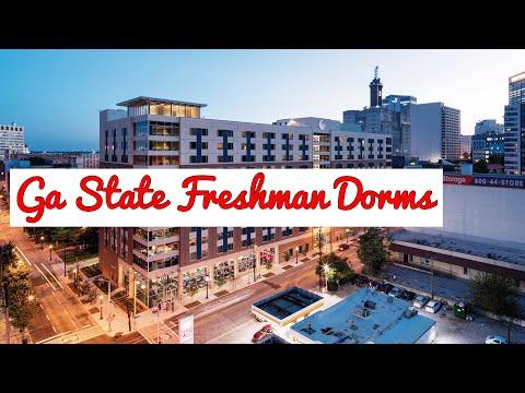 Freshman Dorm Tour | Georgia State University