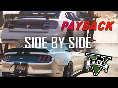 Need For Speed 2017 Payback Trailer Recreated in GTA 5 Trailer Side by Side Comparison!