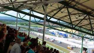 2012. Michelisz Norbert WTCC Hungaroring rajt.