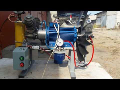 Компрессор для сжатия природного газа в домашних условиях