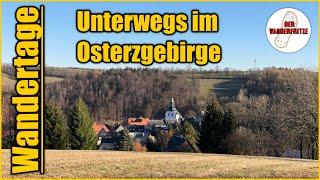 Unterwegs im schönen Osterzgebirge   Erzgebirge   Sachsen   Wandertage S1 F5