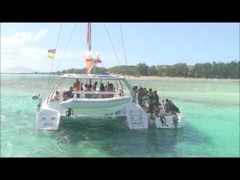 Gabriel Island in Mauritius