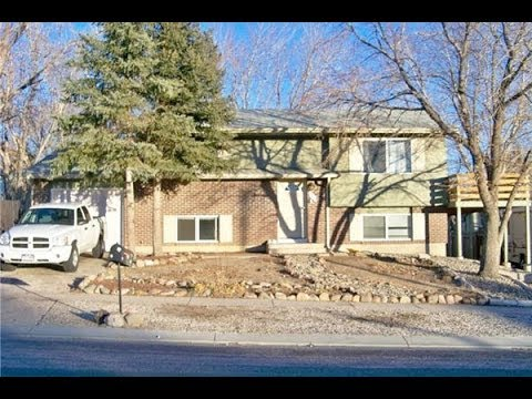(Sold) 2015 Capulin Drive; 4 bed, 2 bath home located in Colorado Springs, CO