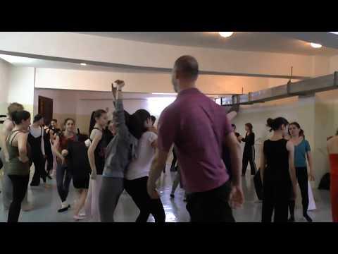 Contact Improv in Yerevan
