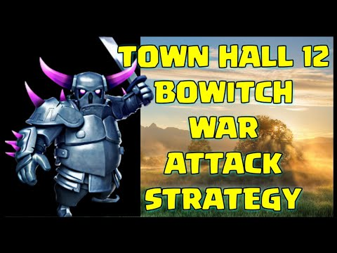 TH12 BoWitch (Bowler + Witch) War Attack Strategy | Clash of Clans
