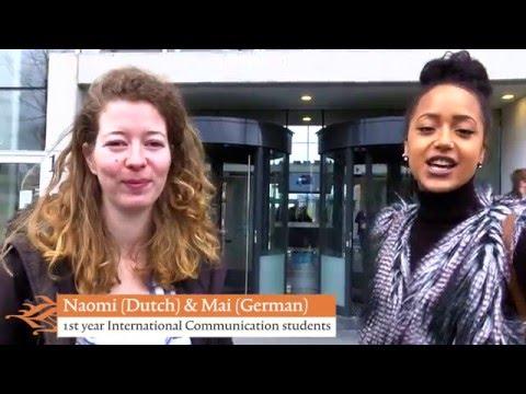 Welcome To International Communication At Hanze UAS, Groningen