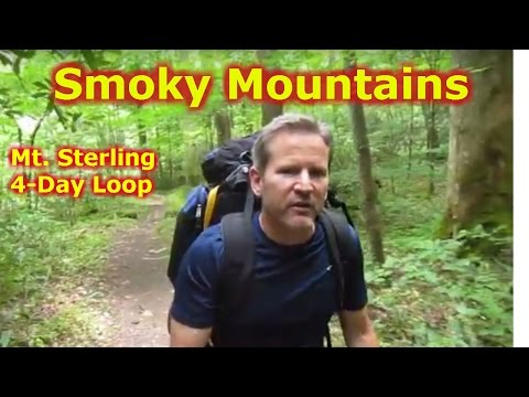 Mt. Sterling 3-night Backpacking Loop: Hiking Great Smoky Mountain National Park