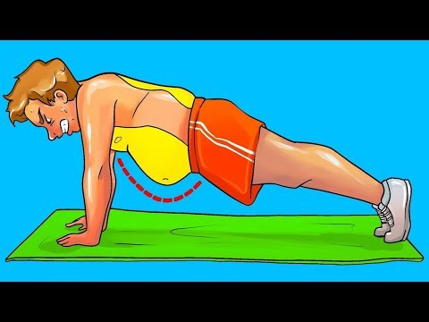 What Will Happen If You Start Doing Planks Everyday