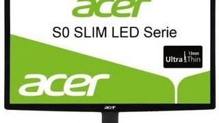acer S240HLbid 24'' LED Monitor Unboxing