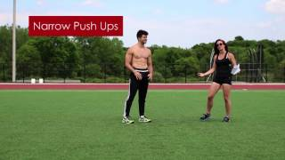 Video [Bodyweight Beast PHASE I Upper Body] How to do Pushups, Pullups, Chair Dips download MP3, 3GP, MP4, WEBM, AVI, FLV Agustus 2018
