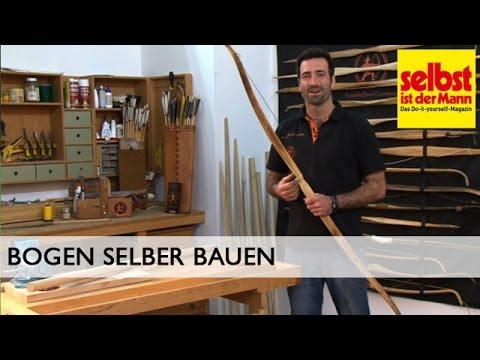 bogen selber bauen youtube. Black Bedroom Furniture Sets. Home Design Ideas