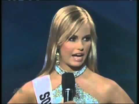 Miss Teen USA 2007   Miss South Carolina Answers A Question