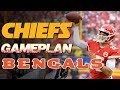 Kansas City Chiefs Gameplan vs Cincinnati Bengals | Patrick Mahomes Tryeek Hill Kareem Hunt | NFL