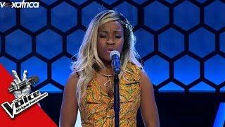 Jannelie ' DKR ' @Booba  Audition à l'aveugle The Voice Afrique francophone 2017