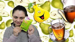 Тканевая маска для лица с белым чаем и грушей Легкая среда 7days