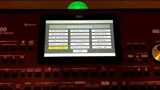 KORG Pa700  OS/SET AD&MC V2 - Local Demos, 18 Songs