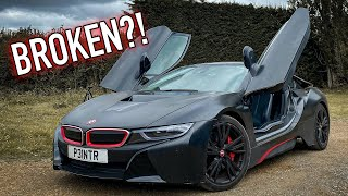My Brother Bought A BROKEN BMW i8!