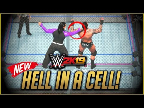 WWE 2K19 : NEW Hell in a Cell Match! Randy Orton vs Jeff Hardy (XBOX One/PS4)