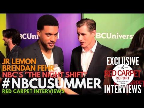 JR Lemon & Brendan Fehr ed at NBCUniversal's Summer 2017 Press Day